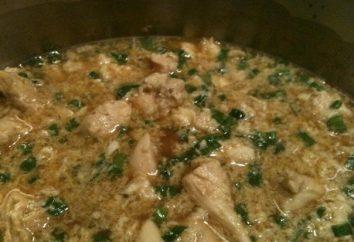 Ein leckeres Rezept für Fast-Food: Huhn mit Reis in multivarka