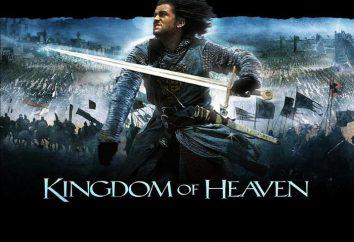 "film ""Regno dei Cieli"". L'attore Orlando Bloom. Marton Csokas. Eva Green"