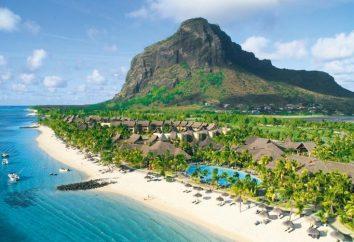 A ilha das Maurícias. Revisões de Viagem