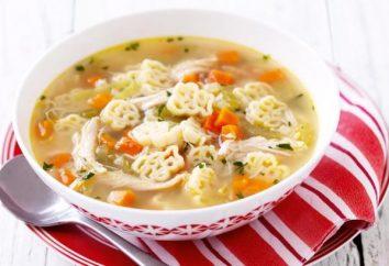 Zupa z wermiszelem: potrawy na receptę dla dorosłych i dzieci