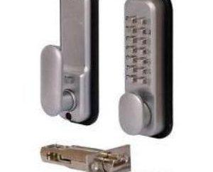 serratura a combinazione elettronica sulla porta – Protezione