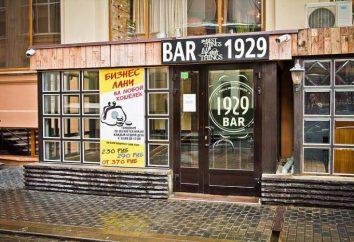 """""""1929"""" – bar ( """"China Town"""" – stacja metra w Moskwie): opis, menu i opinie klientów"""