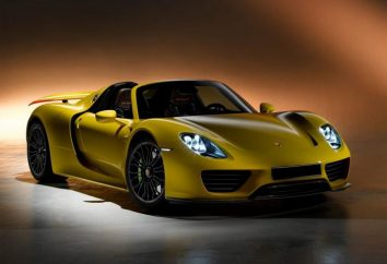 Przegląd samochodu Porsche 918 Spyder
