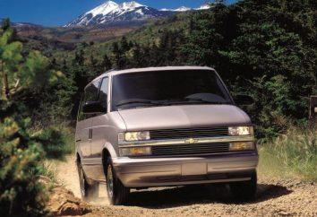 """Auto """"Chevrolet Astro"""": die Beschreibung, Spezifikationen und Bewertungen"""