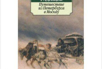L'histoire de « Spasskaya Polist » Radishcheva: résumé, l'idée principale et l'analyse des produits