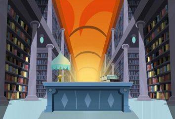 Biblioteka: interpretacji snów, interpretacja, która zwiastuje