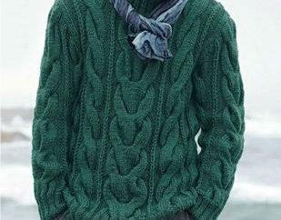 suéteres de punto de los hombres modernos