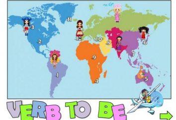 """Quanto à palavra Inglês """"ser"""": o uso do verbo"""