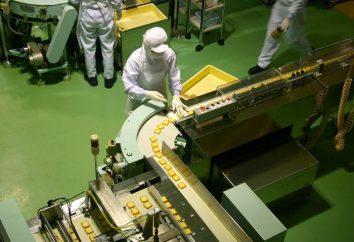 Esquema do processo tecnológico para a produção de produtos de confeitaria: detalhes
