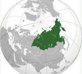 Qual è il Nord Asia? Questa è la Russia!