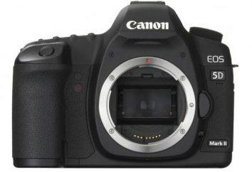 """Kamera """"Canon Mark 2 5D"""": Spezifikationen und Bewertungen"""