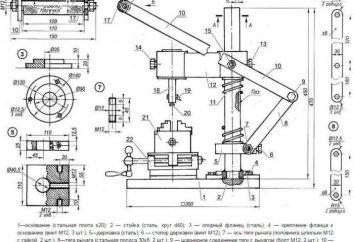 drewno mortisers z rękami: rysunki, instrukcje montażu