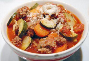Ragout von Zucchini und Kartoffeln mit Fleisch: Die besten Rezepte