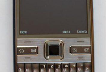 Téléphone portable « Nokia E72 »: vue d'ensemble, caractéristiques, prix