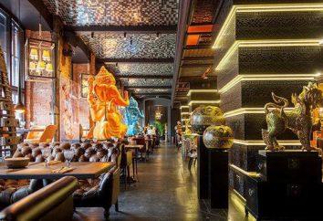 Restaurant « Blek Tay »: exotique thaïlandaise en pierre blanche.
