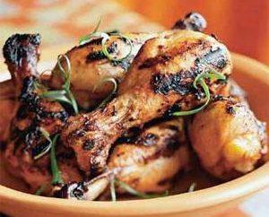 Des recettes originales: marinade de poulet grillé