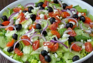 Proste sałatki codziennie: trzy różne receptury potraw