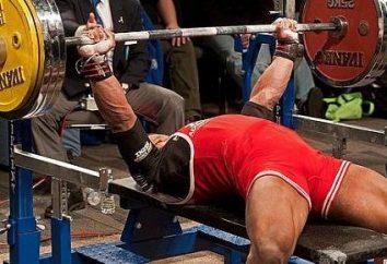 recorde mundial – o supino. campeões powerlifting