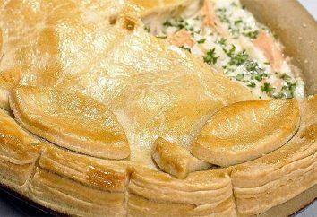 Cozinhar em casa: torta de peixe em multivarka