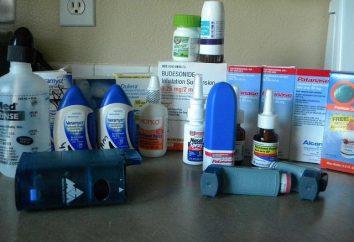 Solution pour inhalation pour la toux: un examen des meilleures préparations et commentaires sur les