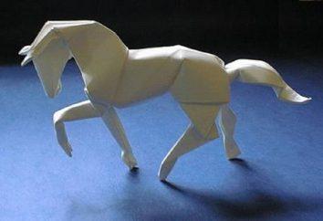 Wie ein Pferd aus dem Papier mit den Händen zu machen?