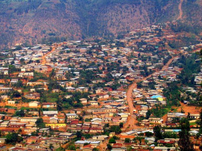 Hauptstadt Ruanda