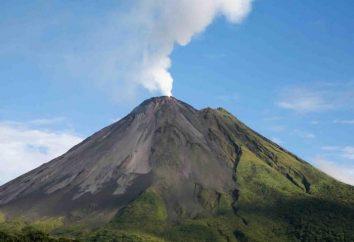 Los volcanes y la estructura de los Volcanes, tipos y frecuencia de erupción