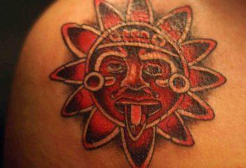 Sun: tatouage et sa signification