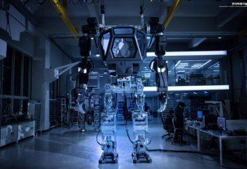 Robot humanoïde géant a fait ses premières étapes