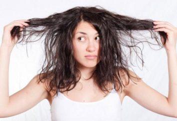 Pozbycie się włosów przetłuszczających się