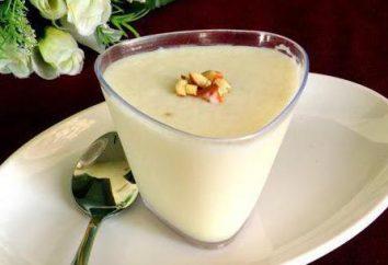 Soufflé laitier savoureux et sain