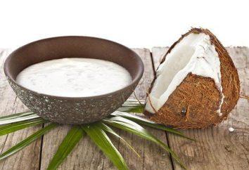 Harm et bienfaits du lait de coco, de la nourriture, des recettes