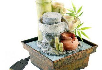 fontaines décoratives en tant qu'élément de l'intérieur