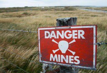 Come installare campi minati?