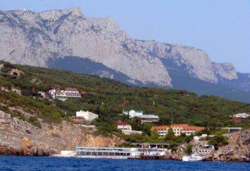 luoghi di villeggiatura della Crimea con un'infrastruttura sviluppata. Resto nel villaggio di Spa, Crimea
