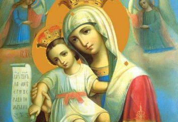 """Icon """"E 'veramente incontrare"""" Madre di Dio. Legenda icone e la preghiera"""