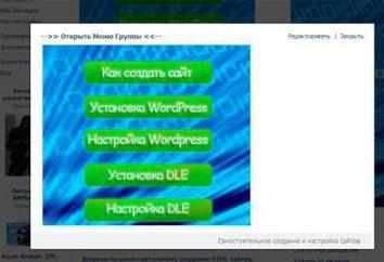 Come fare un menu in un gruppo in VK: wiki markup