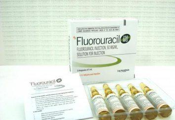 """El medicamento """"fluorouracilo"""": instrucciones de uso, descripción, composición, análogos y comentarios"""