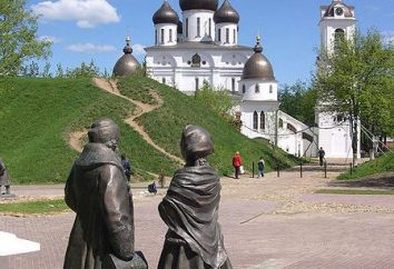 Atrakcje w Dmitrow, który zaleca się patrzeć