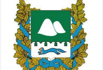 Zauralye símbolos heráldicos: el escudo de armas de la región de Kurgan, bandera y su significado