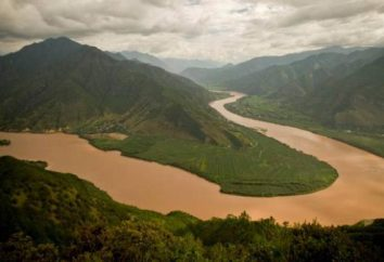 rivières asiatiques. Les principaux cours d'Asie de