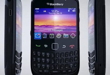 Blackberry 9300: descripción, fotos y comentarios