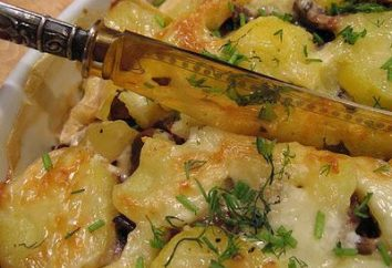 Comment la viande de rôti délicieux et rapide avec des pommes de terre au four avec du fromage?