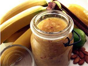 Banana dżem Gotowanie tajemnic