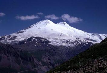 L'altezza del monte Elbrus. gigante europeo
