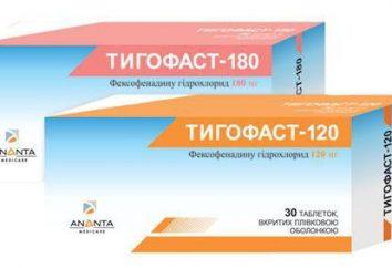 """El medicamento """"fexofenadina"""": instrucciones de uso, análogos, opiniones"""