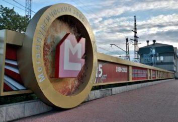"""PJSC """"Nadieżda Zakłady Metalurgiczne"""" (Zakłady Metalurgiczne A. K. Serova.) Adres. metalurgii Żelaza"""