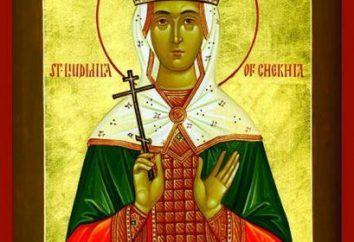São Ludmila Checa. Oração de St. Ludmila