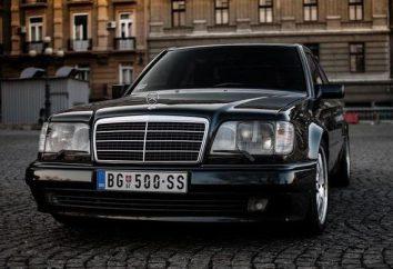 Mercedes W124 E500. Dane techniczne i opinie