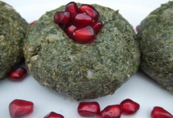 Una ricetta classica pkhali spinaci: interessanti variazioni piatti
